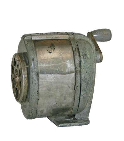 old metal pencil sharpener photo