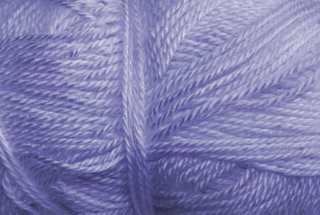 acrylic yarn: a skein of acrylic blue lightweight yarn