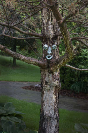 ghoulish: a ghoulish and haunting tree