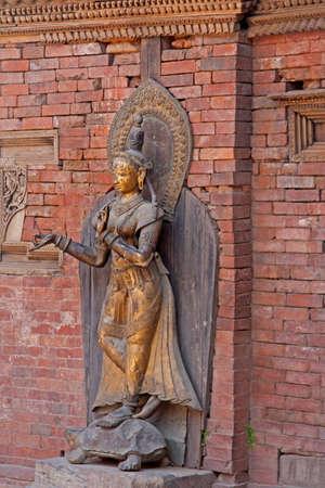 statue of a Hindu goddess photo
