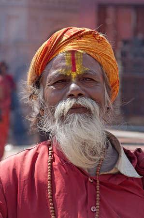 Een Indiase Swami of Sadu