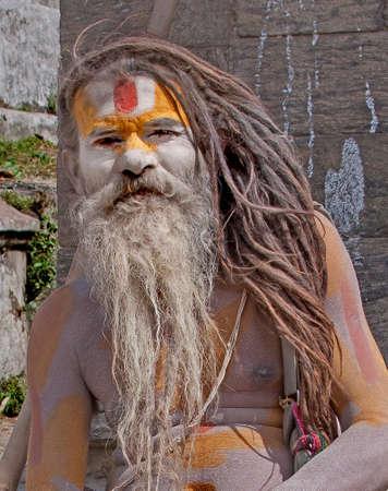 hindues: Un Swami indio o Sadhu