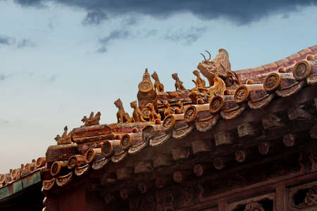 a building in the Forbidden City Stock Photo - 15944751