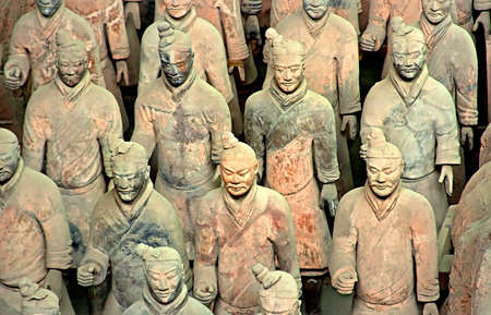 First Emperor of Chinas terracotta warriors, Xian, China