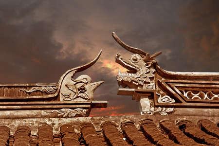 forbidden city: dragon & bird frieze, Forbidden City, Beijing, China