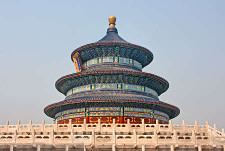 Temple of Heaven inside the Forbidden City, Beijing, China