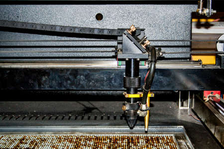 laser cutter Stock Photo - 19027448