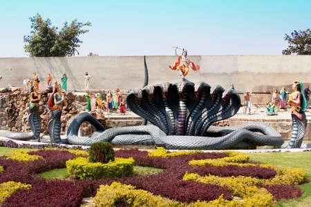 krishna: Standbeeld van Lord Krishna