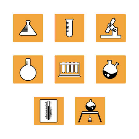 medical technology: chemistry icon
