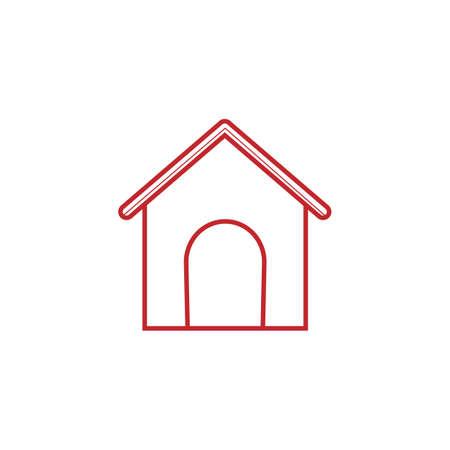 doghouse: house dog icon