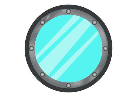 Windows ship icon vector 일러스트