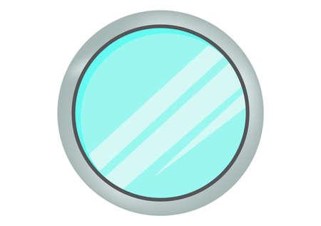 Windows ship icon vector Ilustração