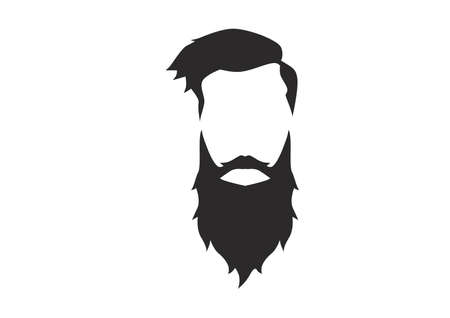 Hipster Detailed Hair Beards