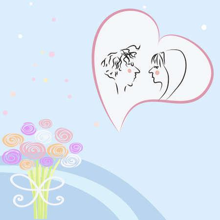 wedding invitation Stock Vector - 8560111