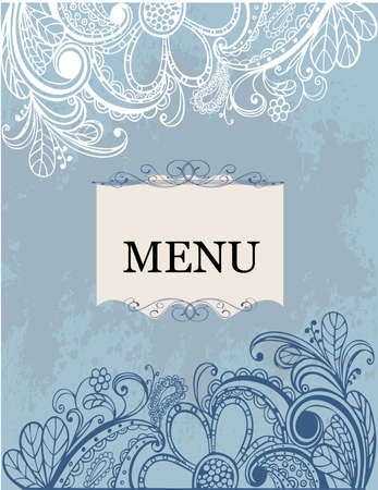 menu Stock Vector - 8560112