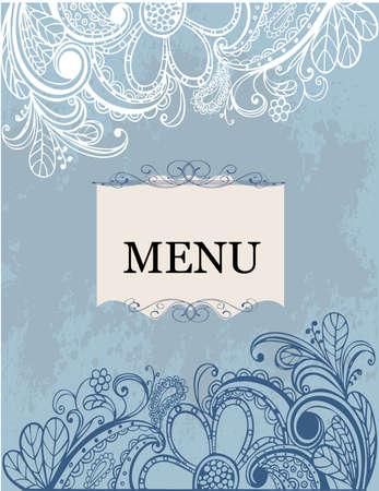 menu Фото со стока - 8560112