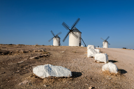 castilla: Windmill in Spain