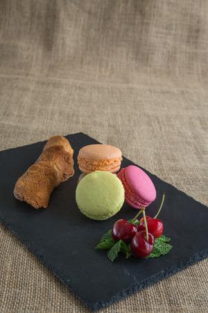 colorfu: traditional french colorfu beautifull macarons