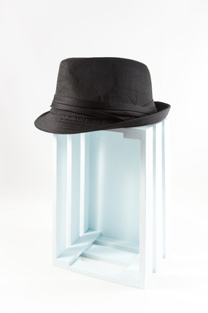 dressy: hat and cap isolated on white background