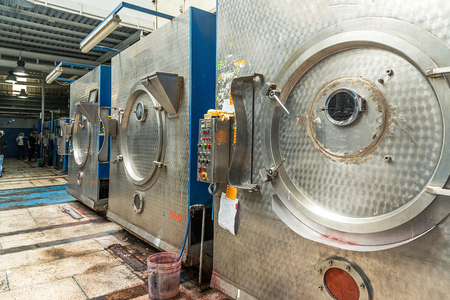 machines: Inside industrial laundry machines Editorial
