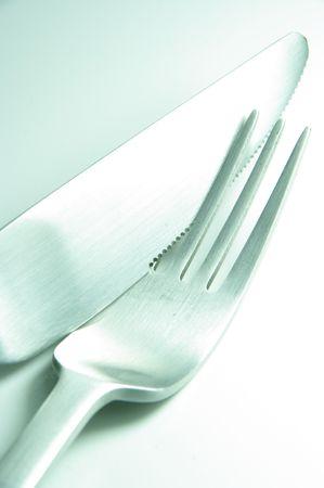 chronicle: fork knife Stock Photo