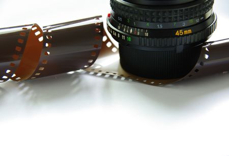 foto film objectiv macro  Stock Photo - 3299280