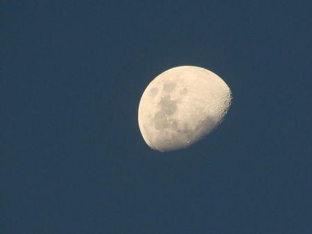 commune: moon blue sky