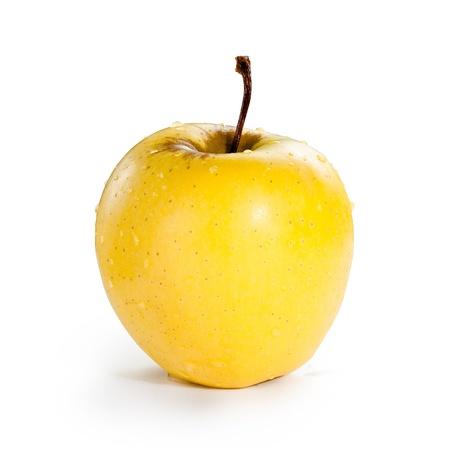to yellow: Fresh Apple