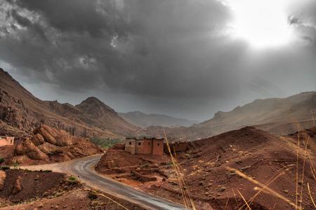 marocco: Dramatic mountain range - Dades Vally, Morocco
