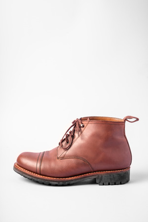 men's: Mens brown leather boot