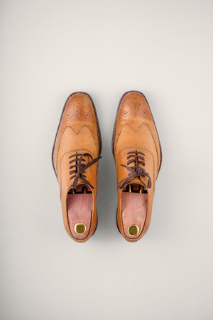 brogues: Mens leather brogue shoes