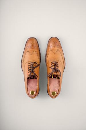 brogue: Mens leather brogue shoes