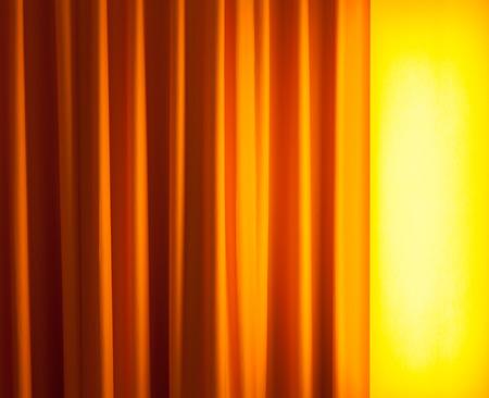 floor lamp: floor lamp on the left ahead curtain