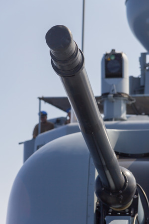 decommissioning: german navy cannon