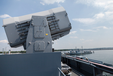 corvette: rolling airframe missile on German corvette