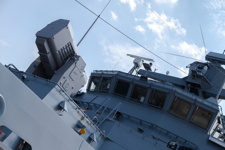 corvette: a rolling airframe missile system on German navy corvette