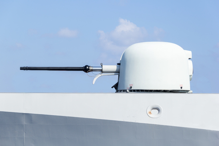 warship: cannon of a warship