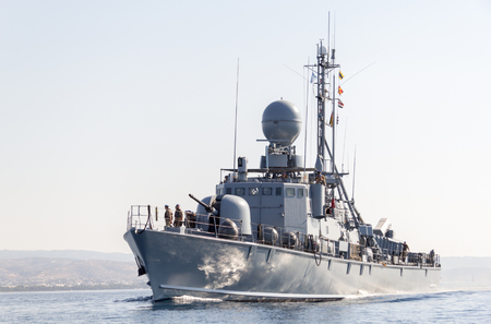 decommissioning: german speedboat from the navy Editorial