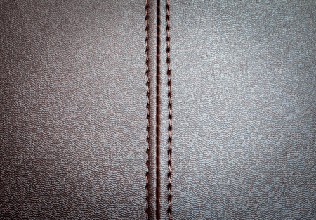 seam: leather texture with a vertical seam