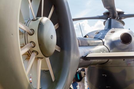 ec: BERLIN  GERMANY - JUNE 3, 2016: airbus ec 135 helicopter from german army on airport schoenefeld, berlin  germany at june 3, 2016.