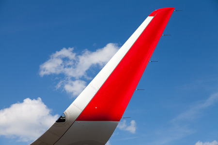 airfoil: wing of an airplane