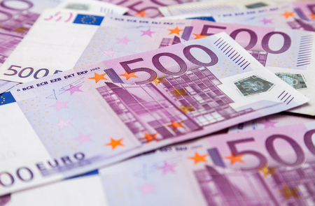 euro notes: five hundred euro notes