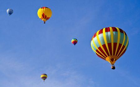 5 Hot Air Balloons