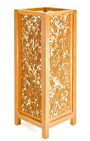 thai motifs: Thai lantern pattern on a background of white