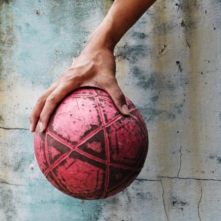 Street Football  Stock Photo - 14027104