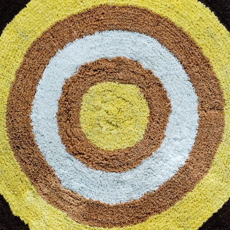 Circle carpet for background  photo