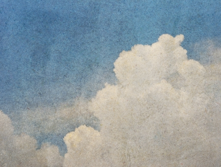 Sky for vintage background Stock Photo - 14027176