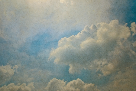 Sky for vintage background  photo