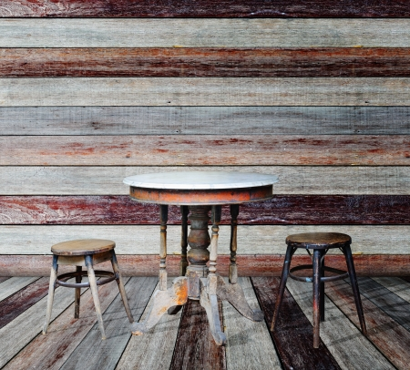 Furniture in grunge room Stock Photo - 14686898