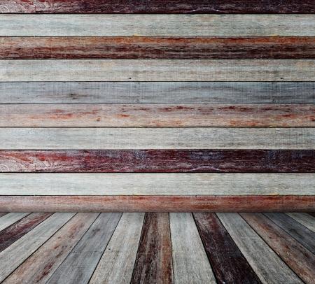 muebles de madera: Sala de grunge Interior